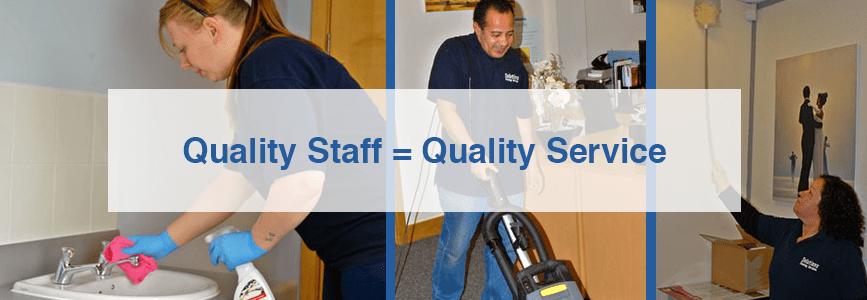 Quality Staff = Quality Service